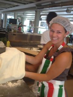 """Pizza School """"Hands in dough"""" (75 minutes)"""
